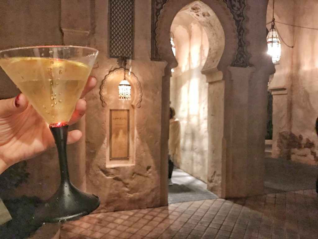 drinking around the world in epcot