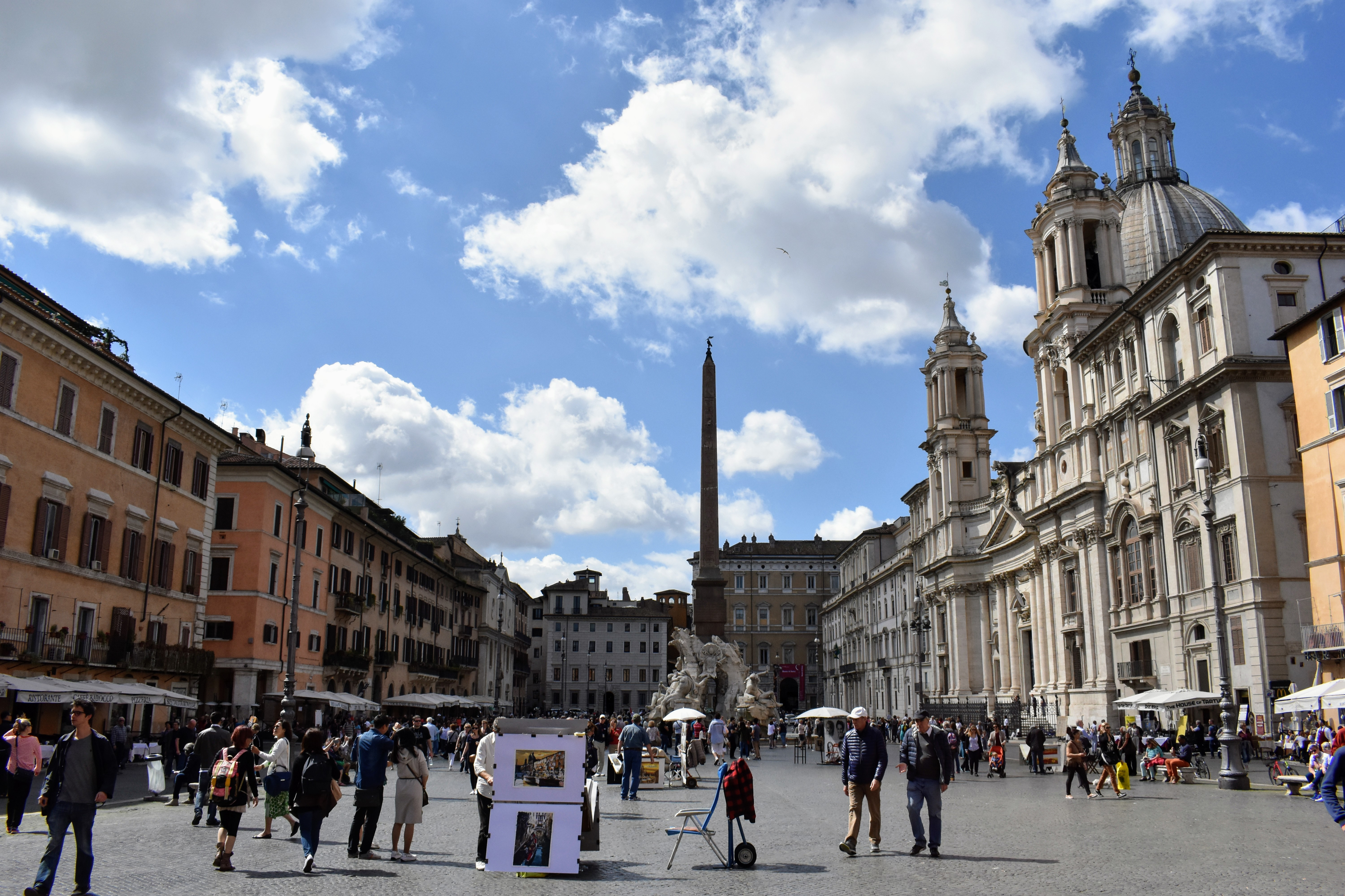 Historical Highlights of Rome - piazza navona