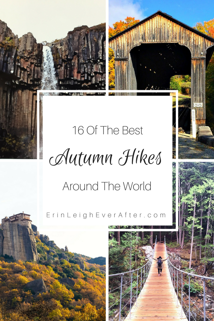 Autumn means time to enjoy the changing colors and mild temperatures. What better way that with an autumn hike? Check out these 16 places travel bloggers recommend for a fall hike around the world.