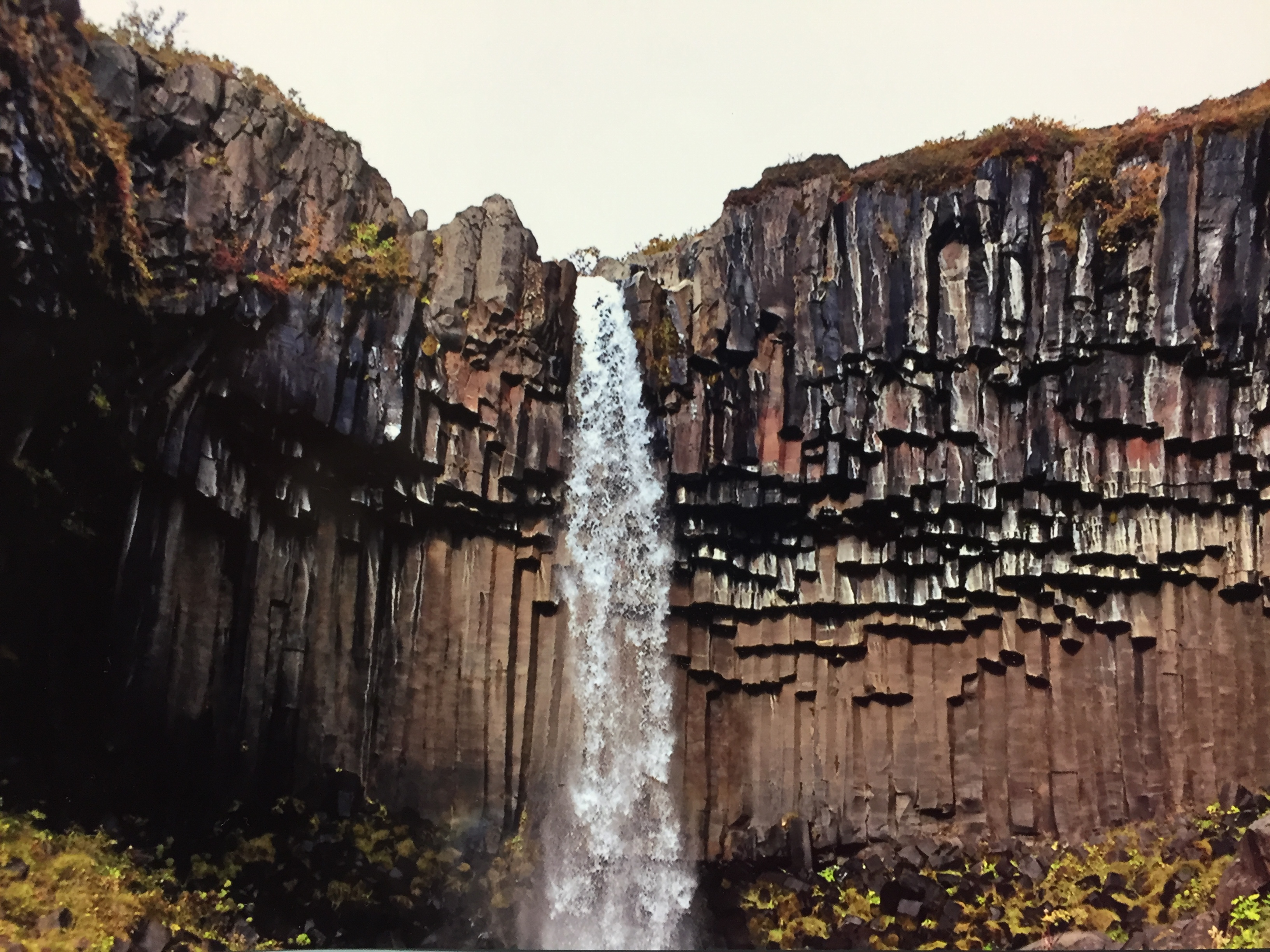 best fall hikes around the world Svartifoss