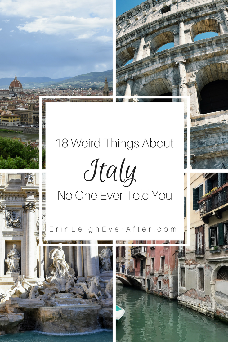 18 Weird Things About Italy