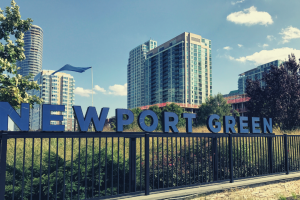Jersey City's Secret Beach Front: Newport Green